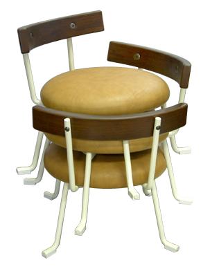 子供椅子(キッズ・ベビーチェア)ジミニーベビー/モフ