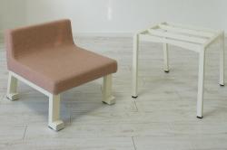 子供椅子 ロンフレンチェアパピー&K9脚