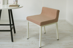 ダイニングチェア(学習椅子)ロンフレンチェア・K9/ピンク